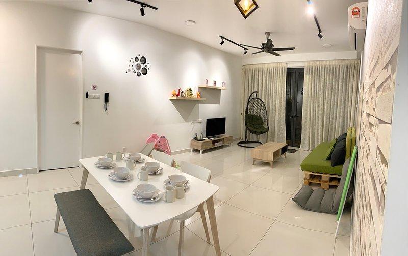 Penang Family Cozy Home ArteS 3BR, holiday rental in Balik Pulau