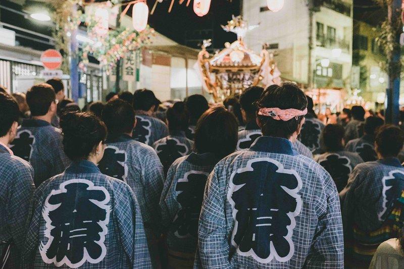 Ohara Inari Shrine Annual Fall Festival in September