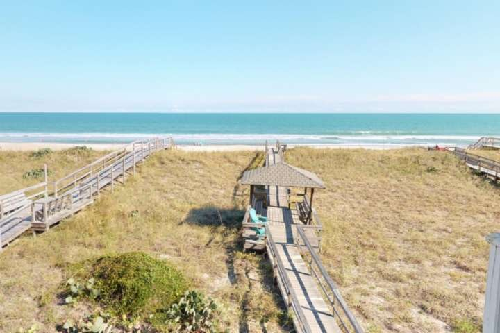 LegaSea has a private boardwalk to the beach and your own gazebo