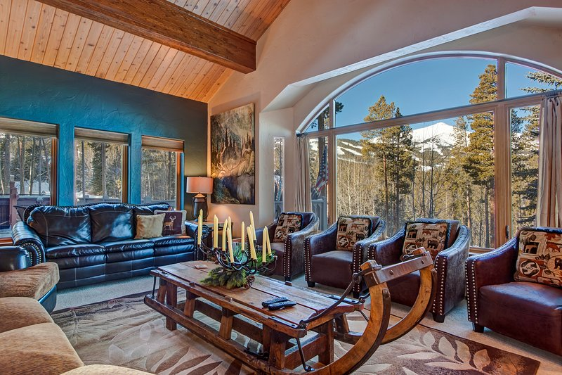 Luxury ski-in/out house w/VIP in-town shuttle service, private hot tub!, holiday rental in Breckenridge