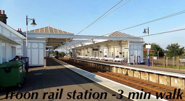 directe trein naar Glasgow - 35 min. reis
