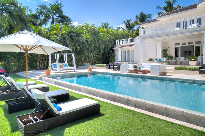 Spacious golfview Villa walking distance to the beach in Puntacana Resort & Club, casa vacanza a Punta Cana