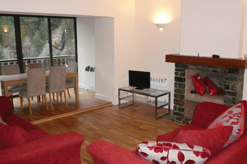 Apartment with mountain view, holiday rental in Ordino