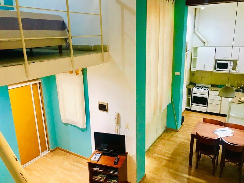 Big Duplex Loft 3 - San Telmo, holiday rental in Veinticinco de Mayo