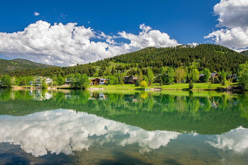 A beleza cênica aguarda a cada esquina em Montana!