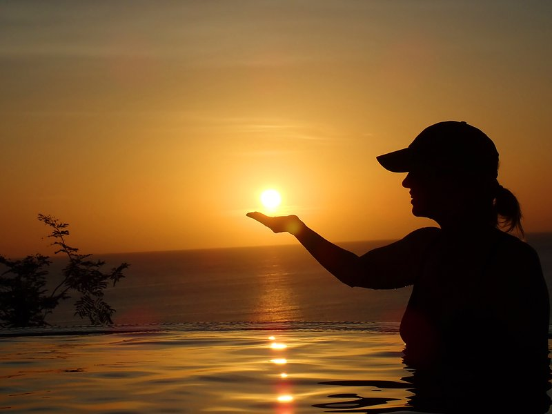 Grab the sun as a souvenir!