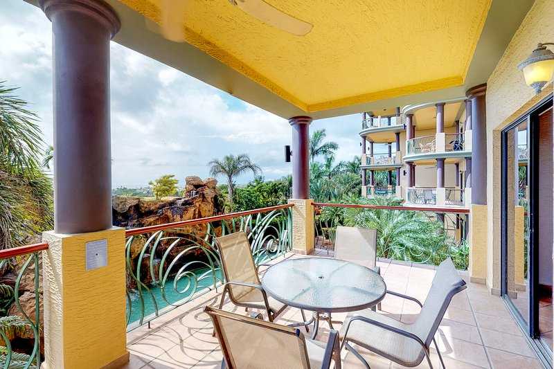 Family-friendly condo w/balcony, pool views, & two shared pools, vacation rental in French Harbour