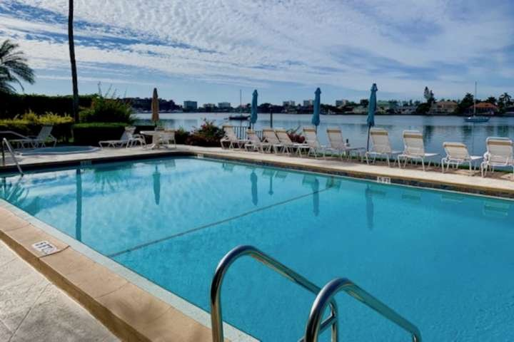 The location of the Bayside Club is second to none!  Watch dolphins play while taking a dip in the pool, lounging in the sun, or fishing from the dock