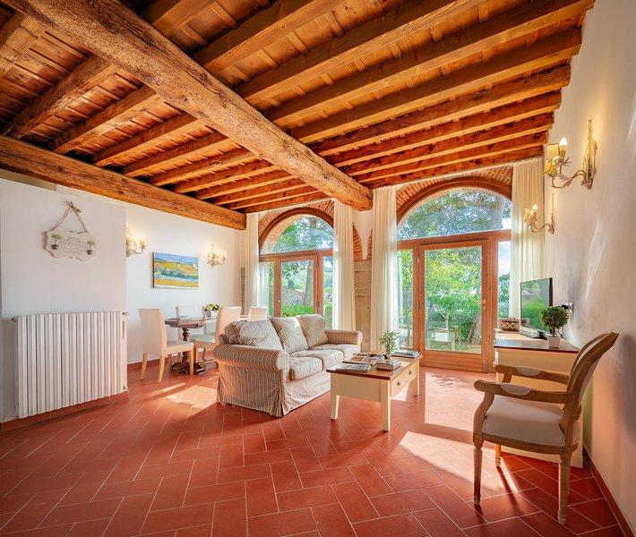 Houses in hystoric villa, holiday rental in Pratolino