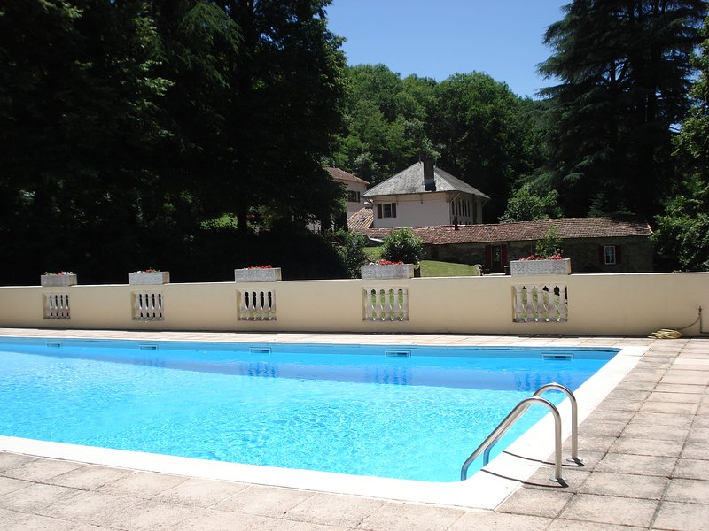 6 Bedroom Holiday Cottage in the Montagne Noire, holiday rental in Villardonnel
