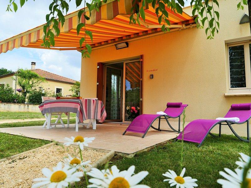 Le Couchant - plain pied, terrasse, parking, jardin, holiday rental in Saint-Vincent-le-Paluel