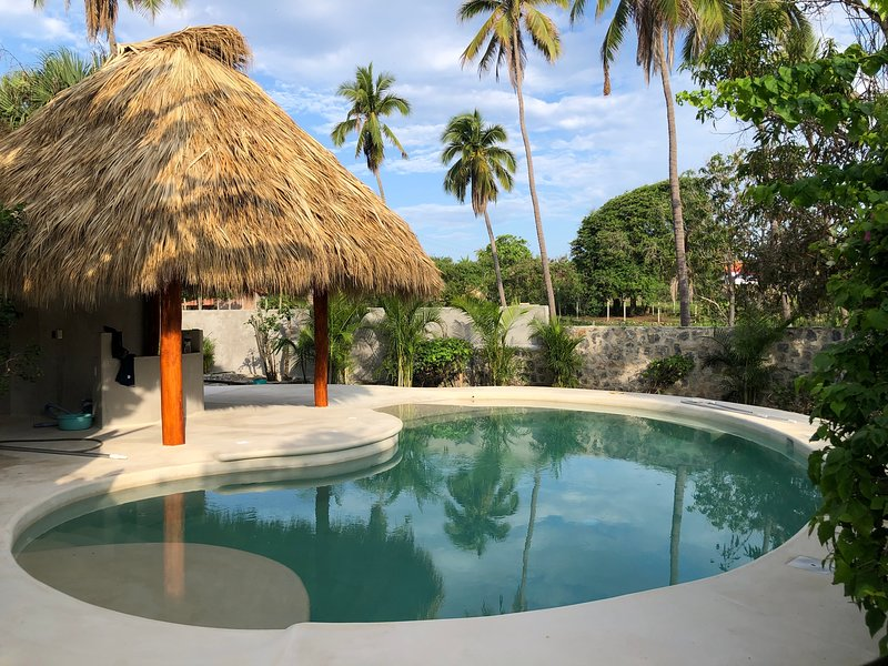 The Frida Bungalow at Casa Canela - Poolside - Adults Only, vacation rental in Troncones