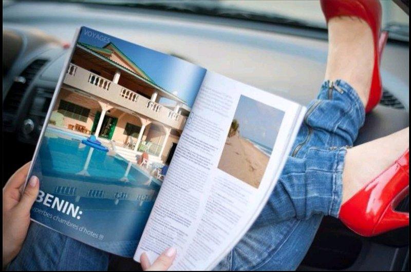 Bénin, chambres d'hôtes dans villa avec piscine, holiday rental in Ouidah