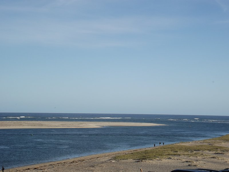 View of Chatham Harbor and Atlantic Ocean