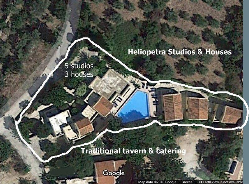Group Accomodation, Heliopetra Studios And Houses, casa vacanza a Tsivaras
