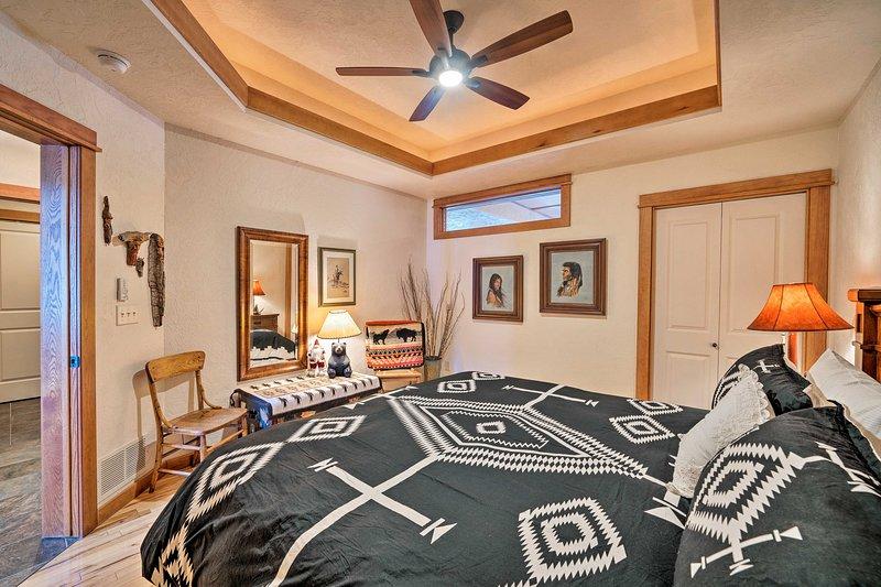 No nível 1, este quarto é perfeito para idosos.