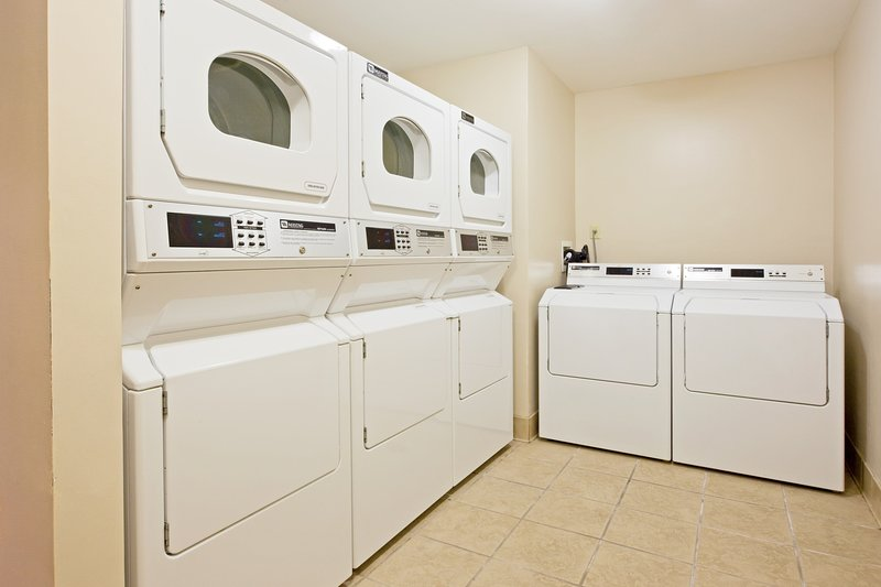 Do your laundry with ease using the on-site washer and dryer
