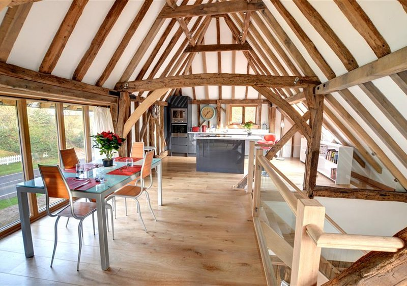 Saddlehurst Barn, vacation rental in Frittenden