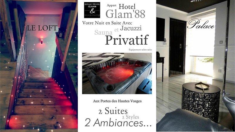 Apart Hotel GLAM88, 2 suite, 2 stili, 2 ambienti
