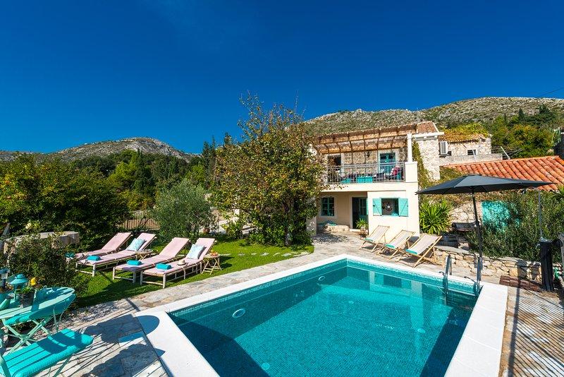 Rustic Stone Villa Begovi Dvori, alquiler de vacaciones en Dubrovnik