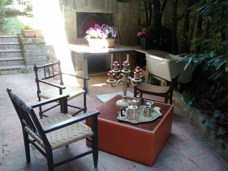 Beautiful studio with shared pool, holiday rental in San Prisco