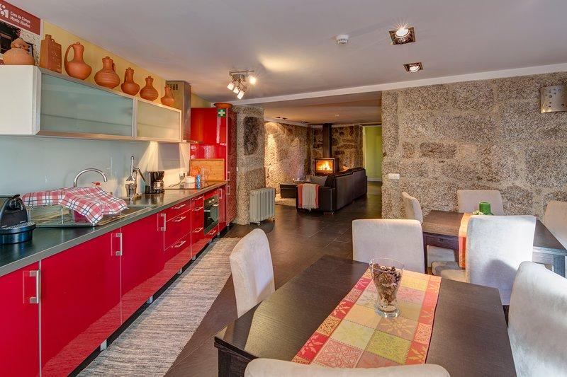 Casa de Campo Monte Abades, casa vacanza a Caldelas