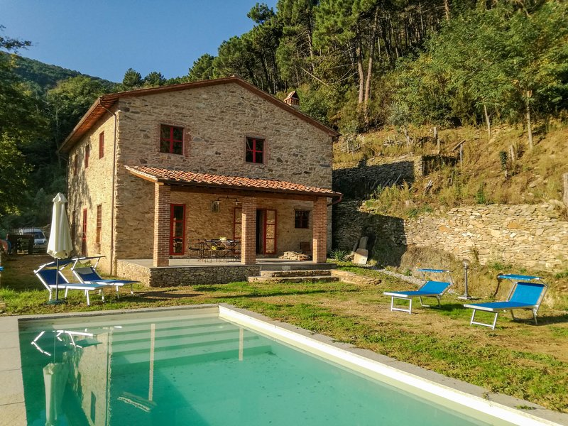 House with private pool and panoramic views 20km from Pisa., holiday rental in Buti