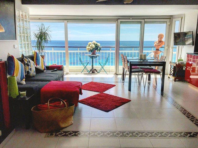 Beautiful apt with sea view & Wifi, holiday rental in La Murada