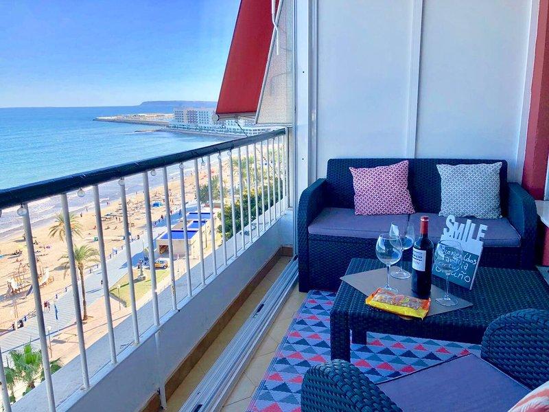Beautiful apt with sea view & Wifi, location de vacances à Senija