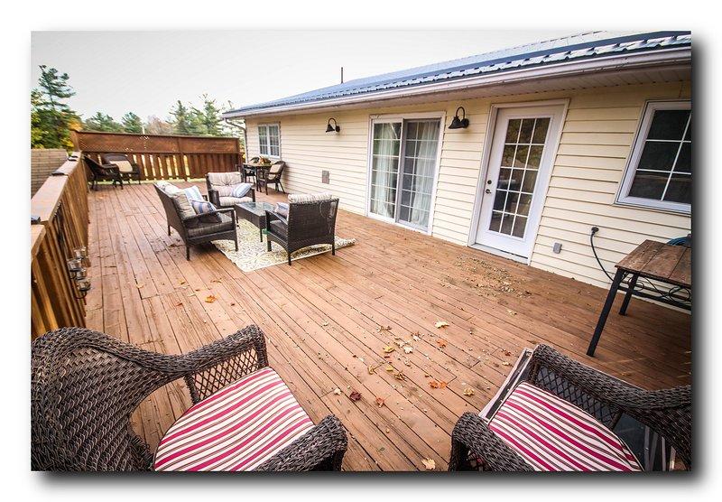 Gran terraza privada para entretener / relajarse
