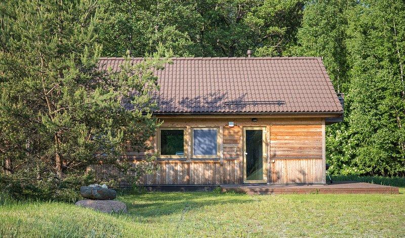 3 bedroom holiday house in Vergi, holiday rental in Kasmu