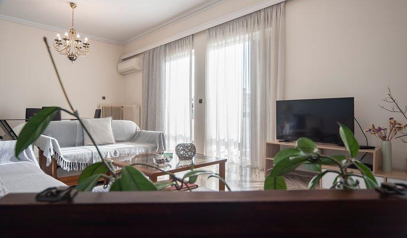 McQueen apartment Chalkis, holiday rental in Malakonta