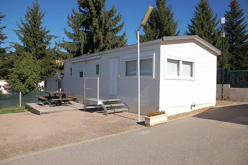 Mobil-home Pyrénées Orientales, holiday rental in Angoustrine