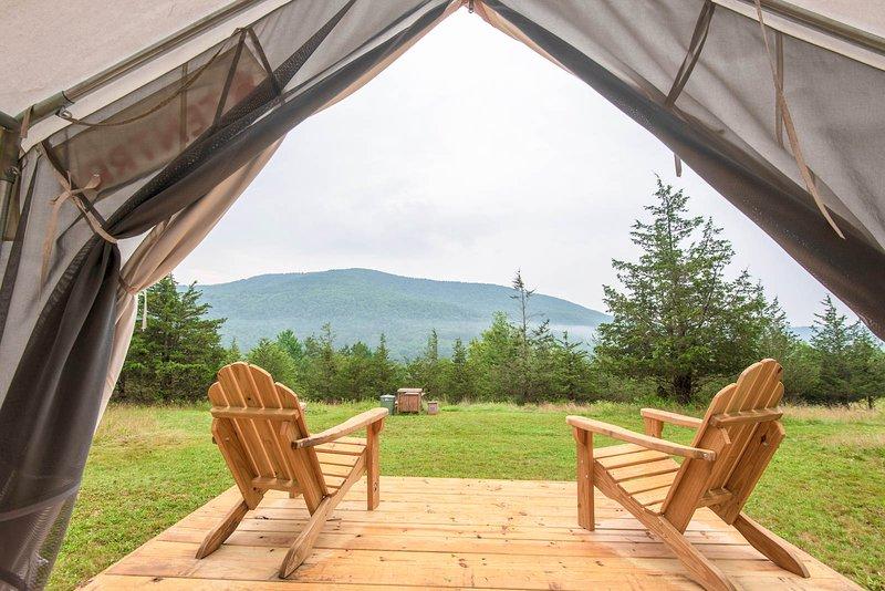 Tentrr Signature Site - Pleasant Valley Maplecroft Camp, holiday rental in Jewett