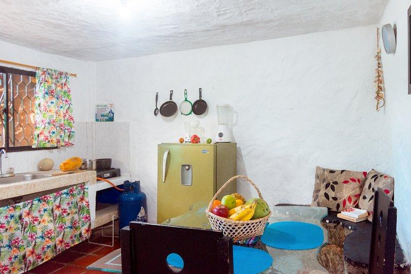 Casa de piedra Taganga · Your Family Cottage very close to the beach!, alquiler de vacaciones en Taganga