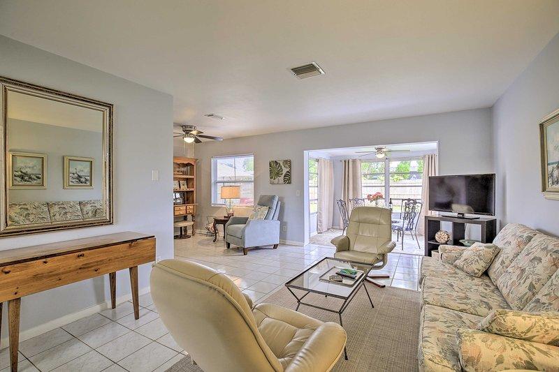 Tutto il meglio di Clearwater ti aspetta in questa confortevole casa vacanza!