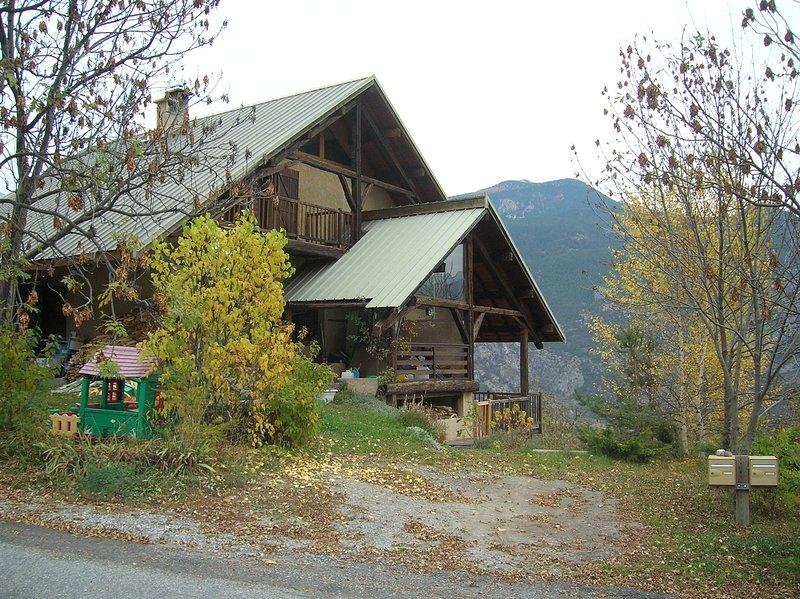 Sous les toits, location de vacances à Hautes-Alpes