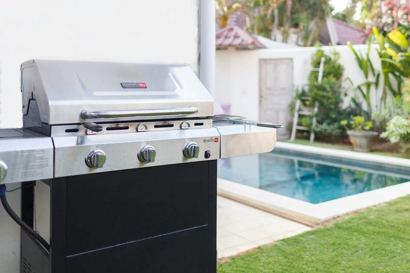 A barbecue is at your disposal