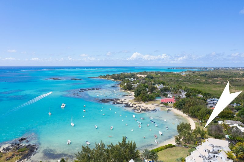 Villa Cap Malheureux beach, 4 p. +1 teenager+1baby, location de vacances à Cap Malheureux