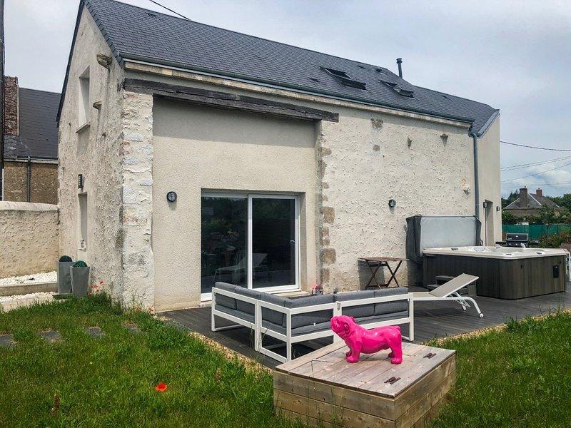 Maison L&B a proximité du Château de Chambord, vacation rental in Mer