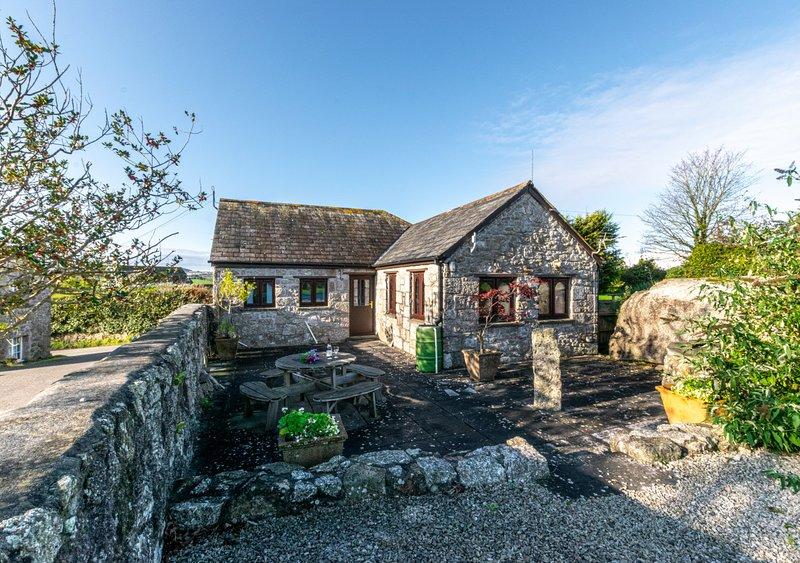 Cross Park Farm Cottage, location de vacances à Luxulyan