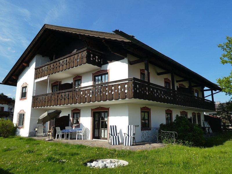 Ferienwohnung 'Hans' in Wallgau - Oberbayern, vacation rental in Ohlstadt