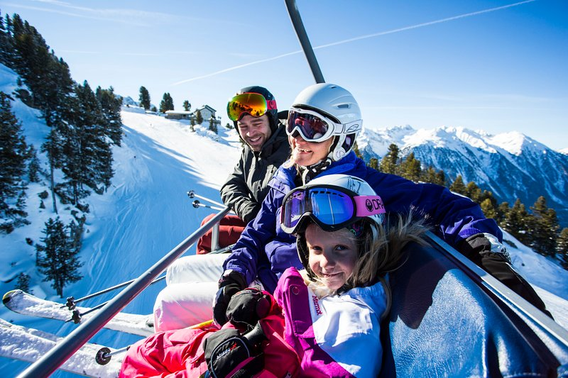 Alpine skiing for the whole family nearby