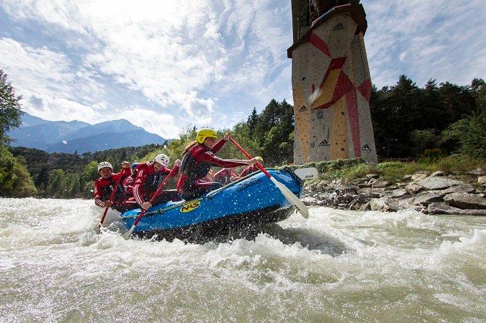 Rafting e canyoning