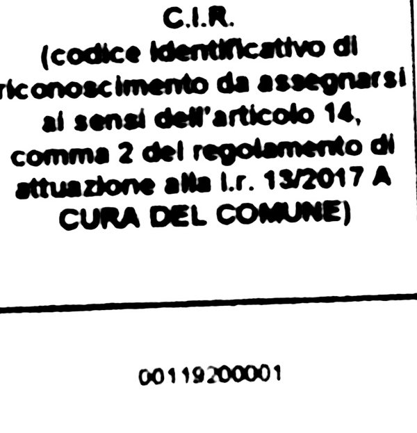 Identifieringskod för erkännande