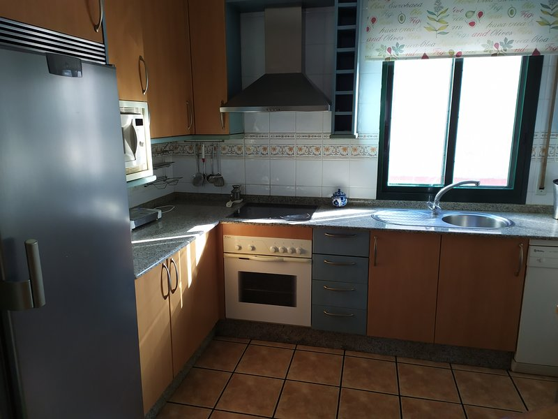 Spacious house with garden, holiday rental in Marin
