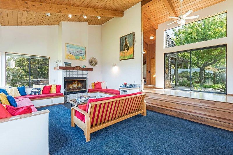 Sala de estar, interior, habitación, pisos, muebles