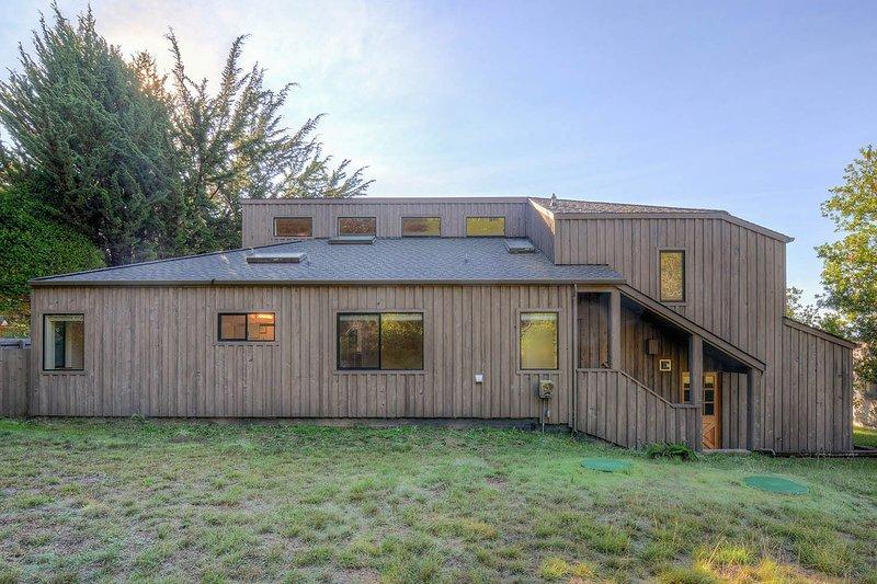 Rural, naturaleza, refugio, edificio, campo