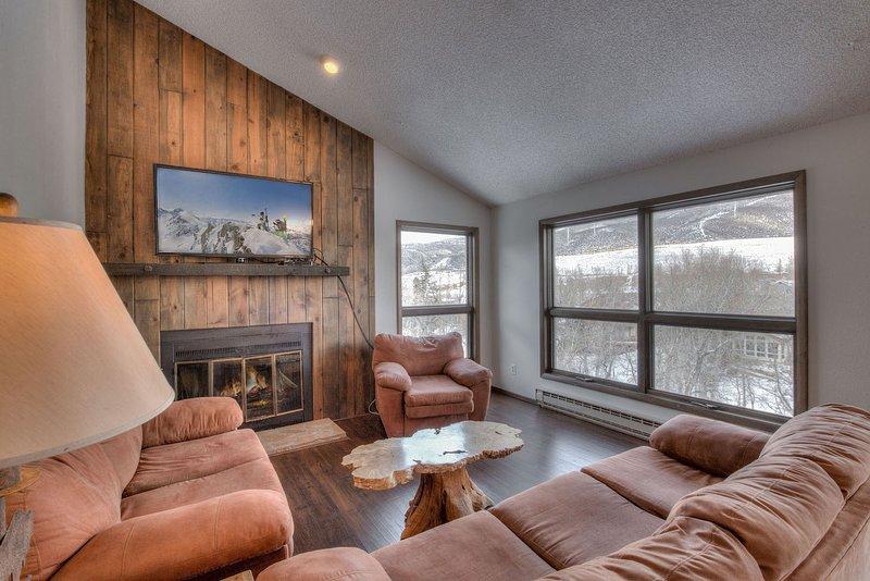 Interior, sala de estar, habitación, muebles, sofá