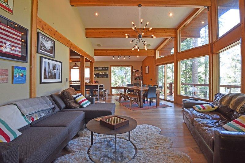 Muebles, sala de estar, habitación, interior, pisos